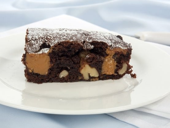 Chocolate Caramel Fudge Brownie-2