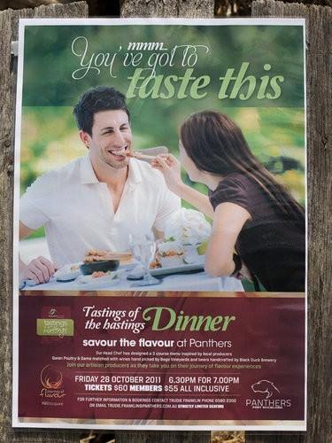 2011 Tastings of the Hastings, panthers dinner-2