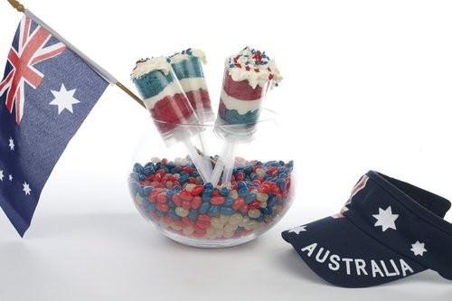 Australia Day Cake Pop Ups, Australia Day Food-3