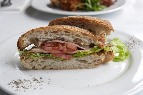 BLT with Lime Aoili