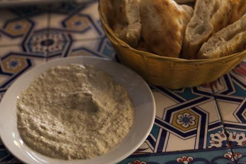 Babaganoush & Turkish Bread