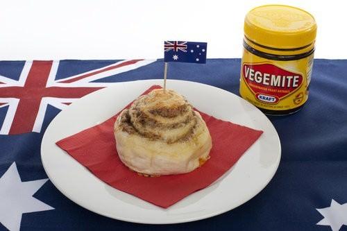 Bakers Delight Australia Day, Cheesymite scroll, vegemite australia day foods-3