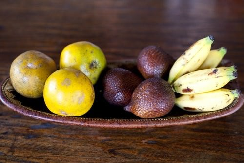 Balinese fruit platter
