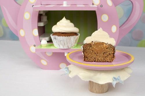Banana & Caramel Cupcakes