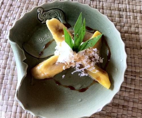 Boiled Banana and coconut bali dessert-2