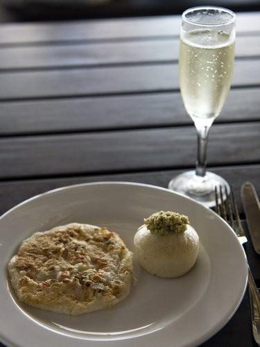 Champagne and Fijian Breakfast Radisson