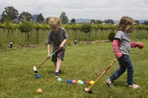 Croquet at Vinifera Wines