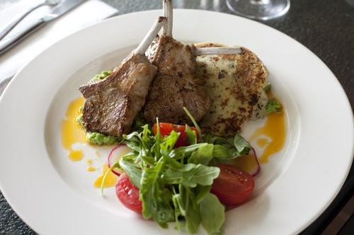 Cumin Spiced Lamb Cutlets, Little Fish Cafe