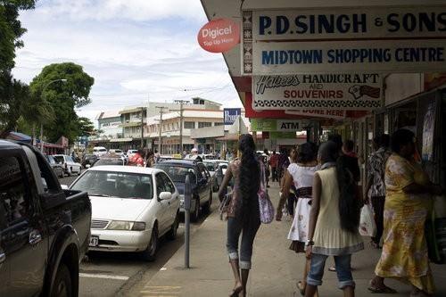 Fiji shopping trip
