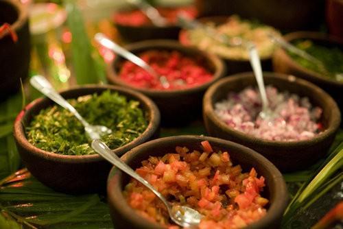 Fijian Kokoda Ingredients