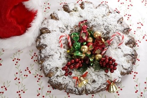German Stollen Wreath-2