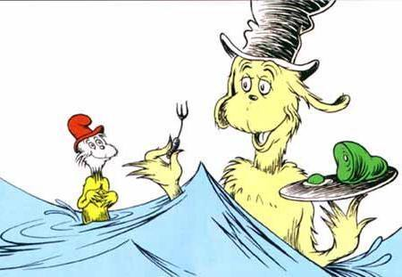 Green Eggs and Ham Dr Suess