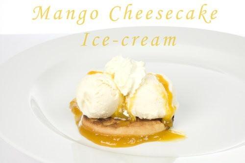 Mango Cheesecake Ice-cream
