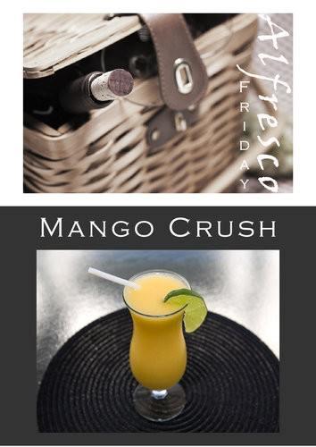 Mango frozen cocktails