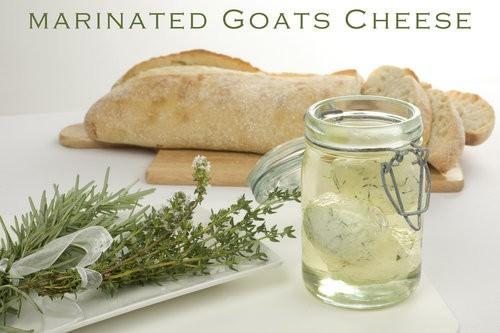 Marinated Goats Cheese
