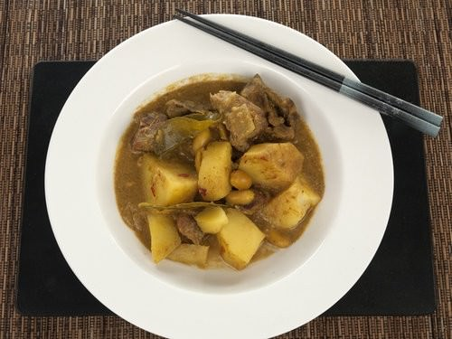 Massaman Curry from scratch
