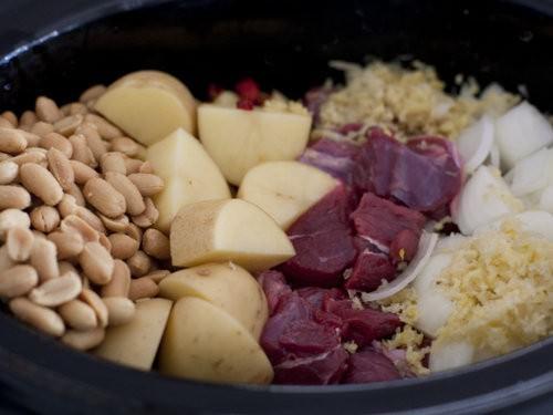Massaman Curry paste from scratch