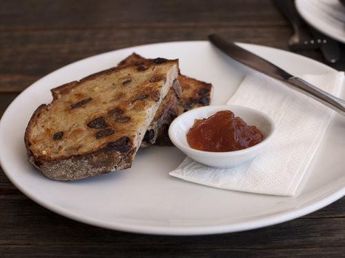Milkbar Port Macquarie, fruit toast