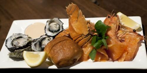 Seafood Mezze Plate
