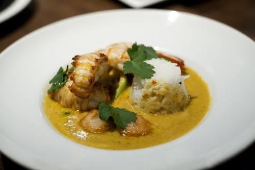 Seafood Yellow Curry