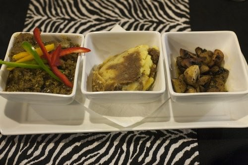 Slow roasted African Beef Curry, Zulus Bar and restaurant