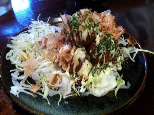 Takoyaki Ocotpus Balls Ramen Kan