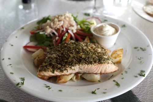 Tasmanian Salmon Little Fish Cafe