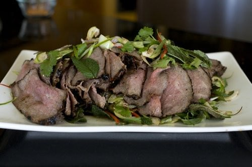 Thai Beef Salad, hot and sour beef salad