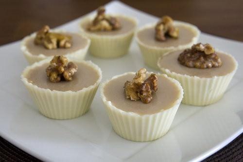 Tofu Maple Syrup Mousse Dessert