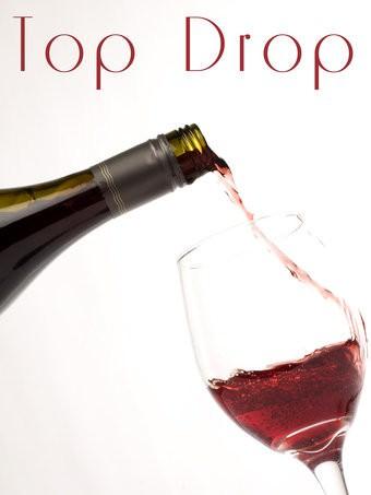 Top Drop Logo, wine review