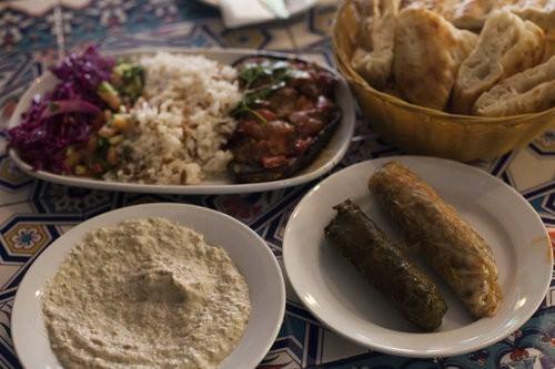 Vegetarian Feast At Matee