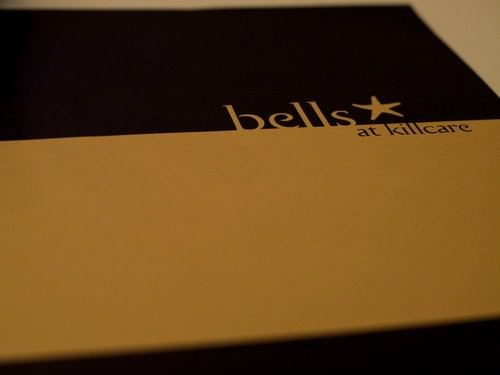 bells at Killcare menu