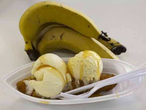 chocolate coated banana, big banana, coffs Harbour, fritters