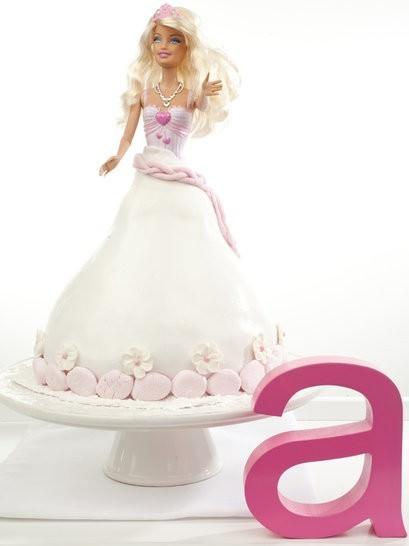 dolly vardan cake, dolly vardin cake, white chocolate mud cake, barbie cake