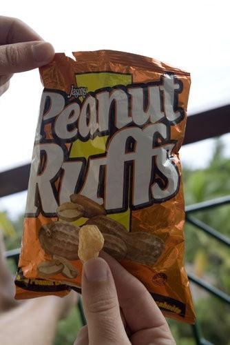 peanut ruff chips