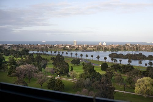 Window view @ The Blackman