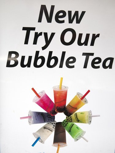 Flavours of Bubble Tea