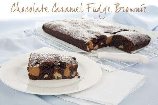 Chocolate Caramel Fudge Brownie