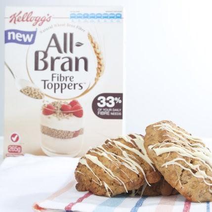 All Bran Fibre Topper Cookies