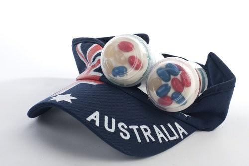 Australia Day Push up Cake