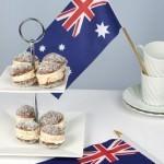 Australia Day Macaroon