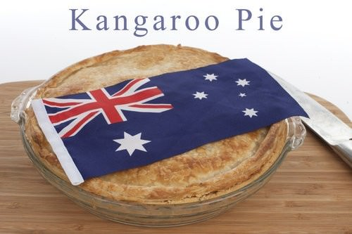 Australia Day recipes, Kangaroo Pie, riberry cooking, australian native food