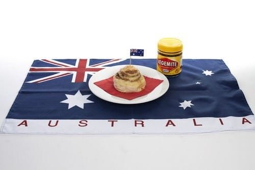 Bakers Delight Australia Day, Cheesymite scroll, vegemite australia day foods
