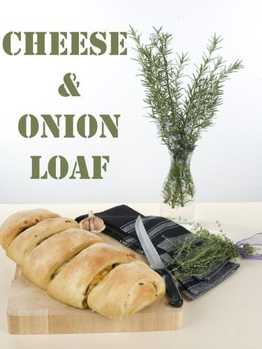 Cheese & Onion Stuffed Loaf