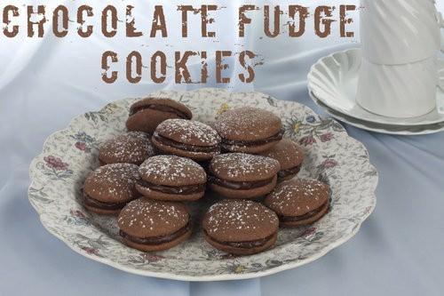 Chocolate Fudge Cookies Recipe, cookie swap-2