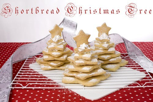Shortbread Christmas Tree Meat And Travel