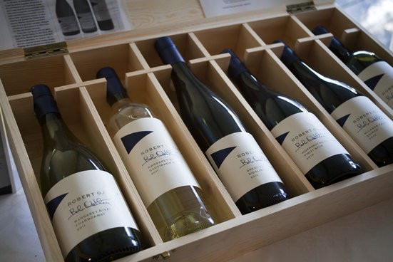 Wooden Gift Box Wines