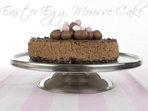 Easter Chocolate Mousse Cake