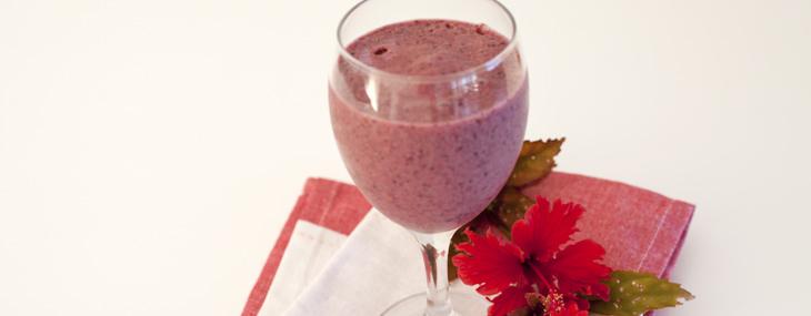 Berry Smoothie, raw vegan smoothie