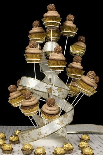 Ferrero Rocher Cupcake Tower